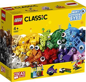 Конструктор Lego Кубики и глазки 11003 Classic кубики кубики abtoys конструктор pt 00578