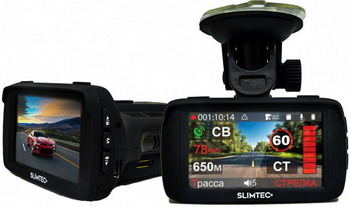 Автомобильный видеорегистратор SLIMTEC Hybrid X френд black diamond black diamond camalot c3 2 желтый 2