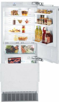 Встраиваемый двухкамерный холодильник Liebherr ECBN 5066 встраиваемый электрический духовой шкаф siemens hn 678 g4 s1
