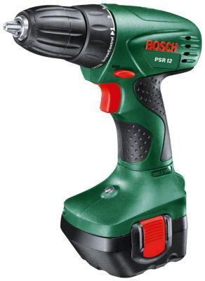 Дрель-шуруповерт Bosch PSR 12 0603955520 набор bosch дрель аккумуляторная gsb 18 v ec 0 601 9e9 100 адаптер gaa 18v 24