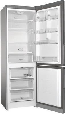 Двухкамерный холодильник Hotpoint-Ariston HF 4180 S холодильник hotpoint ariston hf 5200 s двухкамерный серебристый