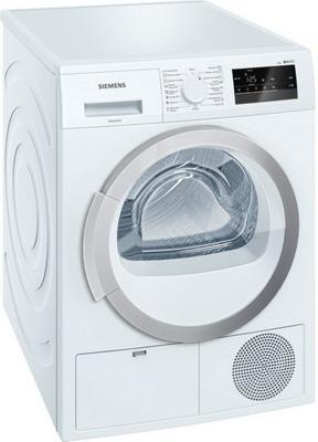Сушильная машина Siemens WT 45 H 200 OE встраиваемая стиральная машина siemens wk 14 d 541 oe