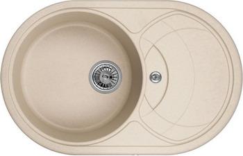 Кухонная мойка Weissgauff ASCOT 780 Eco Granit бежевый  weissgauff ascot 575 eco granit белый