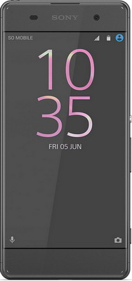 Мобильный телефон Sony Xperia XA Dual Sim Graphite Black