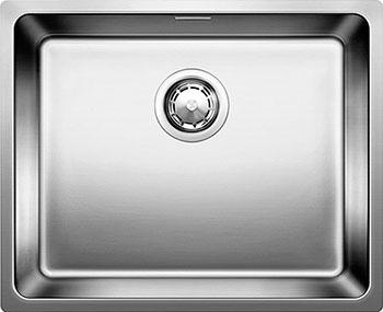 Кухонная мойка BLANCO ANDANO 500-U нерж.сталь полированная с клапаном-автоматом