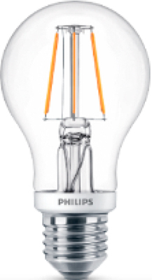 Лампа Philips LEDClassic 7.5-70 W A 60 E 27 WW CL philips световой будильник hf3510 70