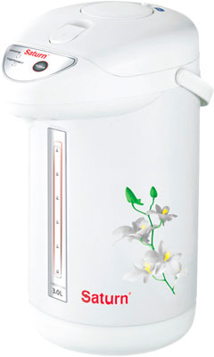 Термопот SATURN ST-EK 8030 White with Beige favourite бра favourite 1251 1w