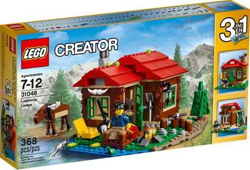 Конструктор Lego Creator Домик на берегу озера 31048 контроллер dmx showtec creator compact