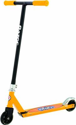 Самокат и скейтборд Razor Grom - Чёрно-жёлтый 081608 скейтборд 8 колес