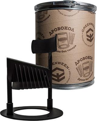 Ручной мини-дровокол GreenWeen GW-DR3-T универсальный черный дровокол greenween gw dr4 t grafit