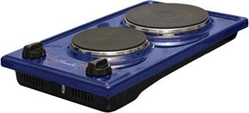 Настольная плита Лысьва ЭПБ 2 2 синяя 2-конф. vicking 2