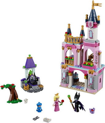 Конструктор Lego Disney Princess: Сказочный замок Спящей Красавицы 41152 конструктор lego disney princess 41154 волшебный замок золушки