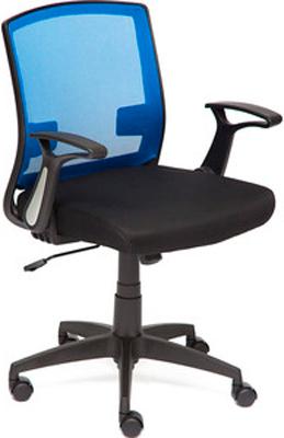Кресло Tetchair SCOUT ткань черный/синий