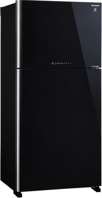 Двухкамерный холодильник Sharp SJ-XG 60 PGBK