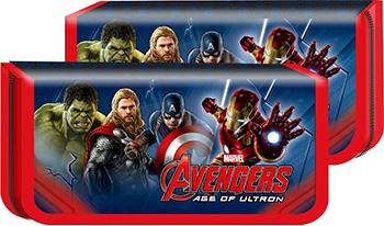 Пенал РОСМЭН Marvel ''Мстители'' Команда MM 000730 играем вместе ролики раздвижные пластиковая рама дизайн marvel мстители
