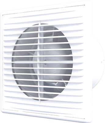 Вентилятор осевой вытяжной c антимоскитной сеткой, обратным клапаном AURAMAX
