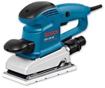Вибрационная шлифовальная машина Bosch GSS 230 AE (0601292670) набор bosch машинка шлифовальная плоская вибрационная gss 18v 10 соло 0 601 9d0 200 адаптер gaa 18v 24