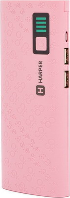 Зарядное устройство портативное универсальное Harper PB-10007 PINK кубеев м уголовные тайны xx xxi вв от милиции к полиции