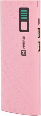 Зарядное устройство портативное универсальное Harper PB-10007 PINK plus size two tones panel chiffon blouse