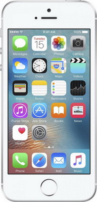 Мобильный телефон Apple iPhone SE 128 Gb Silver (MP 872 RU/A) мобильный телефон apple iphone se 32 gb space gray mp 822 ru a