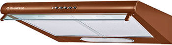 Вытяжка козырьковая MAUNFELD MP 360-1 (C) Коричневый вытяжка козырьковая maunfeld mp 350 1 с бежевый