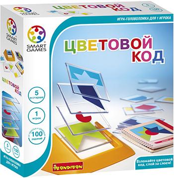 Настольная игра Bondibon Логическая игра Цветовой код ВВ0352 bondibon bondibon логическая игра антивирус