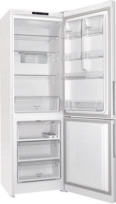 Двухкамерный холодильник Hotpoint-Ariston HS 4180 W холодильник с нижней морозильной камерой hotpoint ariston hf 4200 w