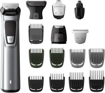 Триммер для лица и тела Philips MG 7730/15 16 в 1 Multigroom series 7000 смеситель bach kurs в 7730 290с для кухни