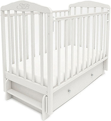 Детская кроватка Sweet Baby Eligio Bianco (Белый) 385 674