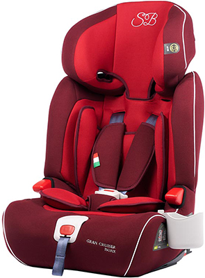 Автокресло Sweet Baby Gran Cruiser Isofix Red 386 013 группа 2 3 от 15 до 36 кг sweet baby gran voyage isofix