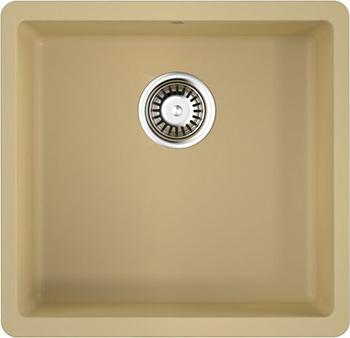 Кухонная мойка OMOIKIRI Kata 44-U-MA Artgranit/марципан (4993398) кухонная мойка omoikiri kata 40 u gr artgranit leningrad grey 4993397