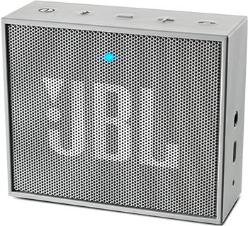 Портативная акустическая система JBL JBLGOGRAY динамик jbl портативная акустическая система jbl flip 4 цвет squad