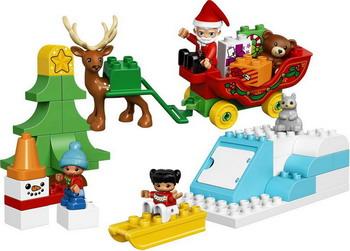 Конструктор Lego DUPLO NY Новый год 10837 lego lego duplo 10831 моя веселая гусеница