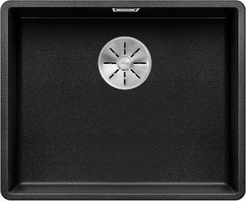 Кухонная мойка BLANCO SUBLINE 500-F антрацит с отв.арм. InFino 523532 atlanta ath 2431 silver black чайник электрический