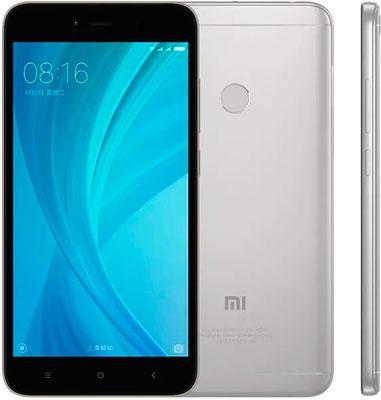 Мобильный телефон Xiaomi Redmi Note 5A Prime 64 GB серый телефон xiaomi redmi note 5a prime 3gb 32gb серый