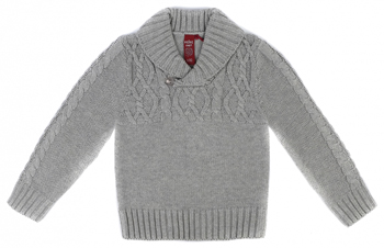 Джемпер Reike SB-19 для мальчика knit 86-52(26) 18 мес. Серый брюки для мальчика let s go цвет серый голубой 10211 размер 86