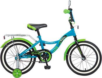 Велосипед Novatrack 16 Багира синий 167 BAGIRA.BL6 велосипед novatrack boister 12 2015 blue 125boister bl5