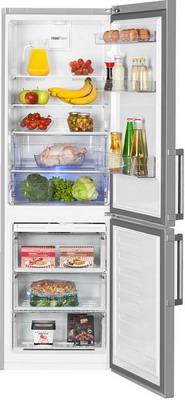 Двухкамерный холодильник Beko RCNK 321 K 21 S двухкамерный холодильник beko rcnk 321 k 00 w