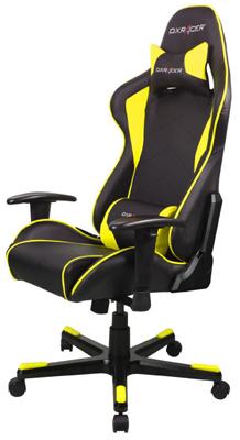 Кресло компьютерное DxRacer OH/FE 08/NY (черно-желтое) oh my god it s electro house volume 4