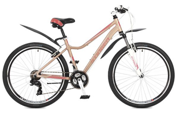 Велосипед Stinger 26'' Vesta 17'' розовый 26 AHV.VESTA.17 PK7 велосипед stark vesta 26 1 s 2018