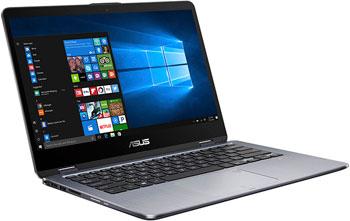 Ноутбук ASUS ZenBook TP 410 UA-EC 303 T (90 NB0FS1-M 08370) серый wzsm new dc jack power port socket connector for asus zenbook ux21a ux31a ux32a ux42vs ux52vs