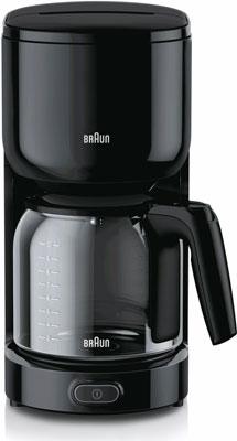 Кофеварка BRAUN KF 3120 BK braun mq5137 bk