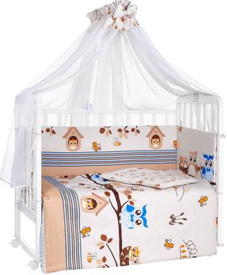 Комплект постельного белья Sweet Baby Allocco Marrone kupi kolyasku комплект постельного белья lambministry kk вдохновение 7 предметов