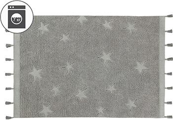 Ковер Lorena Canals Звезды хиппи серые 120*175 C-HI-ST-GREY