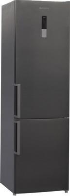Двухкамерный холодильник Shivaki BMR-2018 DNFX холодильник shivaki bmr 2013dnfw двухкамерный белый