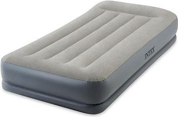 Купить Кровать надувная Intex, Mid-Rice Airbed 99х191х30 встроенный насос 220 V 64116, Китай