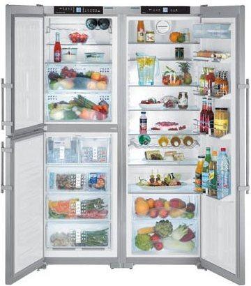 Холодильник Side by Side Liebherr SBSes 7353 (SBSes 73530) liebherr sbses 7165