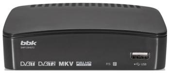 Цифровой телевизионный ресивер BBK SMP 129 HDT2 тёмно-серый