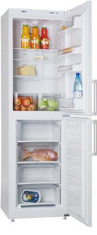 Двухкамерный холодильник ATLANT ХМ 4425-080 ND серебристый двухкамерный холодильник atlant хм 4425 060 n