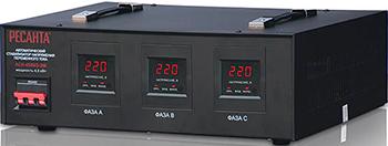 Стабилизатор напряжения Ресанта АСН - 4 500/3 электрод ресанта мр 3 ф4 0 пачка 1 кг 71 6 24